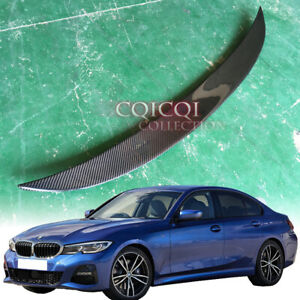 Carbon BMW 2019~ G20 3-series Sedan high kick performance type trunk spoiler◎