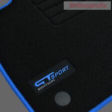 MP velluto GT EDITION tappetini per RENAULT MEGANE 4 IV posteriore acciaio per BJ. 11/2015 BL