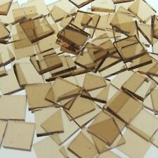 """100 1/2"""" Beige Cathedral Stained Glass Mosaic Tiles"""