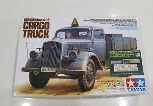 Tamiya No. 35291 | 1:35 German 3ton 4x2 Cargo Truck w/ Aber Photoetch Detail Set