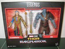 Marvel Legends The Grandmaster and Korg Two Pack Set Marvel Studios Thor NEW