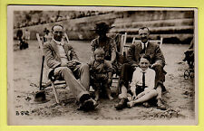 Kent - Margate, Family on the Beach - Williams Happy Snaps Real Photo Postcard