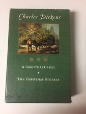 Charles Dickens Christmas Carol & The Christmas Storie Slipcase 1994 Barnes Nobl