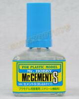 Gunze Mr. Hobby Tool Cement # MC129 Glue S Extra Thin Non-Corrosive 40ml