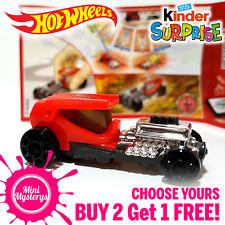 Kinder Surprise Hot Wheels Cars *CHOOSE YOURS* BUY 2 GET 1 FREE! Kinder Joy Toys