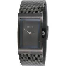 Bering Damen Uhr Armbanduhr Slim Classic - 10222-079 Meshband