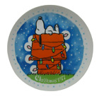 Peanuts Christmas COLLECTORS PLATE First Edition Snoopy 1977 7.5 In