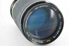 MC SOLIGOR Zoom Objektiv 80-200mm 1:4.5 PENTAX PK MAKRO