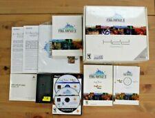 Final Fantasy XI Online PlayStation 2 Hard Disk Drive Bundle Complete in Box