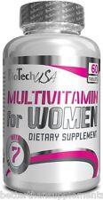 BioTech USA MULTI VITAMINS & MINERALS FOR WOMEN 60 TABLETS BEST FORMULA !