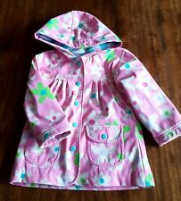 Girls Age 2 Years HATLEY pink floral Warm lined Waterproof Rain Winter Coat