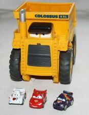 Disney Pixar Cars Colossus XXL mit 3 Micro Drifter Dump Truck Rarität TOP