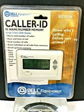 Bell Equipment Sonecor Be-95N Caller-Id 95 Name Number Memory - Lcd Display