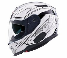 NEXX X.T1 Lotus White EXTRA SMALL Full XT1 Motorcycle Helmet XS -(CLOSEOUT SALE)
