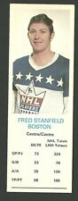 Fred Stanfield Boston Bruins 1970-71 Dad's Cookies Hockey Card VG
