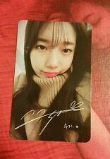 Miss A Suzy Yes No Photocard
