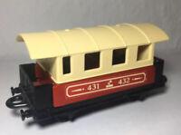 Matchbox Railway Eisenbahn Lesney Nr 44 Passenger Coach Zug Waggon 1A Zustand