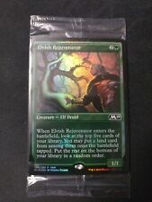 MTG Magic the Gathering Elvish Rejuvenator M19 FOIL FNM Promo x4 (Playset)