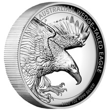 Perth Mint Wedge Tailed Eagle Keilschwanzadler High Relief 2020 1 oz 999 Silber