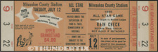 1 1955 ALL-STAR GAME VINTAGE UNUSED FULL TICKET BASEBALL reproduction laminated!