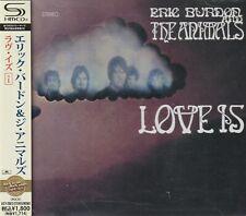 ERIC BURDON AND THE ANIMALS - LOVE IS + 1. JAPAN.SHM-CD