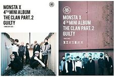 Monsta X - Clan 2.5 Part.2 Guilty [New CD] Asia - Import