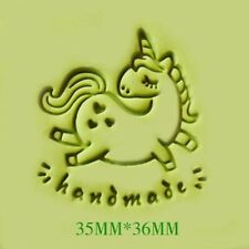 Unicorn Soap Stamp For Handmade Soap Candle Candy Stamp Fimo Stamp