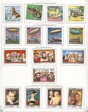 KOMOREN  ( COMORES ISLANDS ) -  1977/8 - LOT OF MH STAMPS  -  2  IMAGES