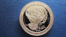 Medaille Bronze United Friedensmedaille 1975 in PP 39 mm  (18R27)