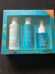 MOROCCANOIL Colour Complete Gift Set Shampoo Conditioner Spray New