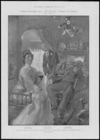1904 Antique Print - LONDON Theatre Mr Pinero New Play Wife Without Smile  (267)