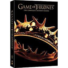 Game Of Thrones : Season 2 DVD, 2013, 5-Disc Set R4 New