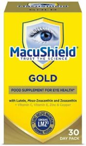 Macu Shield Gold Food Supplement - Pack of 90 Capsules - Eye Care Supplements