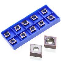 10pcs CCMT09T304 VP15TF Carbide Inserts CCMT 09 T3 / CCMT32.51 Insert Set In Box