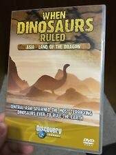 When Dinosaurs Ruled : Asia - The Land Of The Dragon region 2 DVD (documentary)