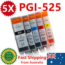 5X Ink Cartridges PGI525 CLI526 for Canon MG5250 MG6100 MG6150 MG6250 MG8150