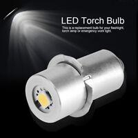 1pc P13.5S 1W 3/4.5/6/9V 7000K LED Ampoule Rechange Lampe-torche Lampe de poche