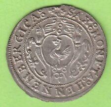 Sachsen-Henneberg 24 Kreuzer 1622 Kipper besser als vz toll erhalten nswleipzig