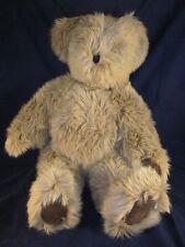 "CANTERBURY BEARS ENDLAND 1984 Teddy Bear 25""  Suede Paws ~ Design Centre London"
