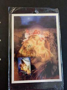 """2000 - Maxi Cards - CHRISTMAS 2000 """"Baby Jesus"""" - 3v. SEALED Set"""