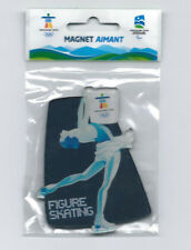 CANADA 2010 VANCOUVER OLYMPIC WINTER GAMES FIGURE SKATING FRIDGE MAGNET NEW