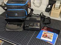 Vintage Polaroid Spectra System SE Instant Film Camera Close Up Lens Bundle Case