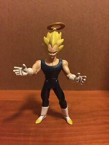 DBZ Dragon Ball Z Vegeta SS Angel Action Figure