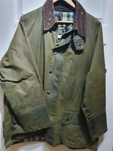 BARBOUR BEAUFORT  Waxed Jacket, ,  size 44 VINTAGE