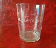 Lovely Glass Antique Marked Cauterets