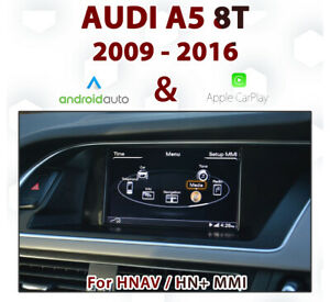 [Touch] Audi A5 2009-16 Touch overlay Apple CarPlay & Android Auto Integration