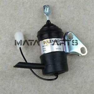 Stop Fuel Shut Off Solenoid Valve BX2230D Engine RTV900R RTV900T D902 for Kubota
