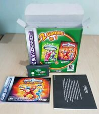 Power Rangers 2 in 1 Nintendo Gameboy Advance GBA SP Micro DS Pal Boxed manual