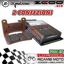 T004 EX ZCOO DID KIT 4 PASTIGLIE FRENO ANTERIORI SUZUKI GSX-R 1000 2010 2011