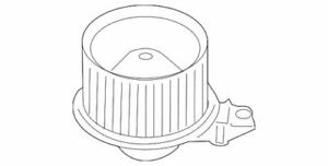 Genuine Ford Blower Motor CL1Z-19805-A